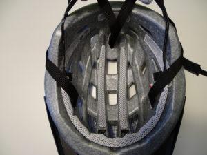 Fahrradhelm Innenpolster reinigen