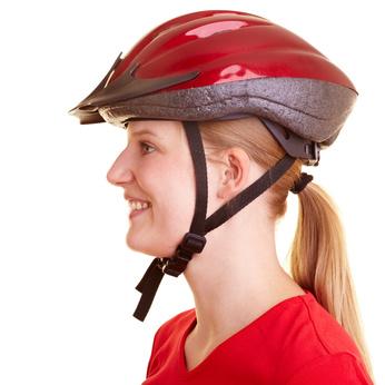 Fahrradhelm Passform