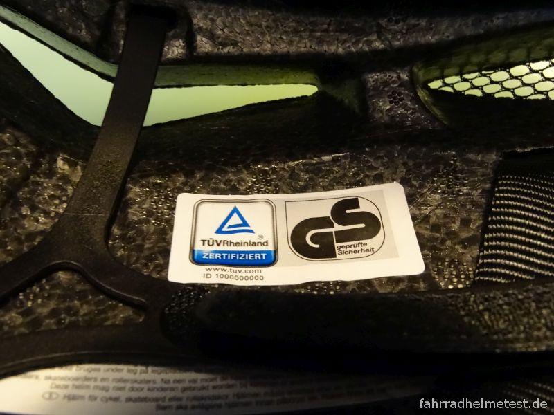 Siegel TÜV Rheinland und Geprüfte Sicherheit (GS)